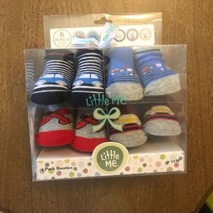Other - Socks w/ milestone stickers